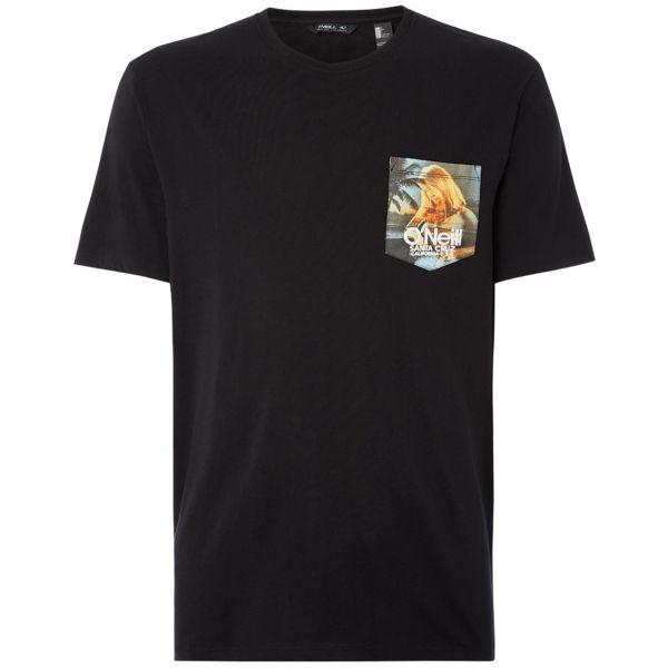 O'Neill LM PRINT T-SHIRT černá M - Pánské tričko
