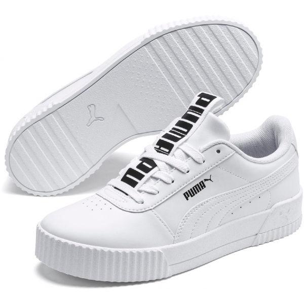 Puma CARINA BOLD biela 7.5 - Dámska obuv na voľný čas