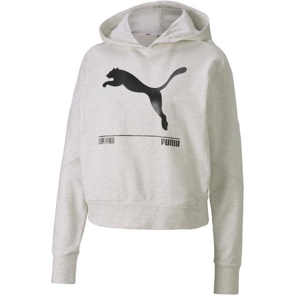 Puma NU-TILITY HOODY bílá XS - Dámská mikina