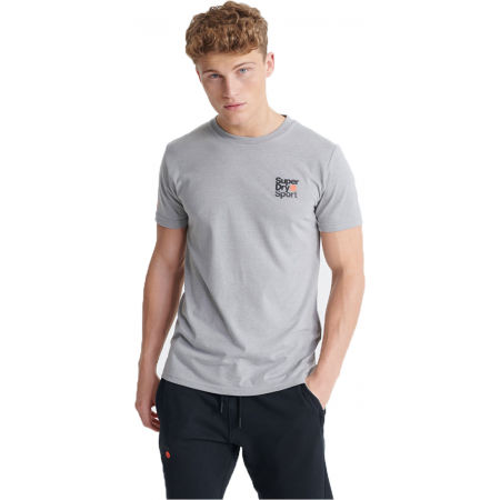 Superdry CORE SPORT SMALL LOGO TEE - Мъжка  тениска