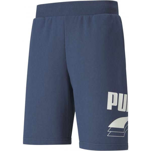 Puma REBEL BOLT SHORTS 9 niebieski S - Szorty męskie