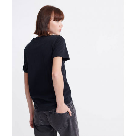 Dámske tričko - Superdry RO GLITTER EMBOSS ENTRY TEE - 3