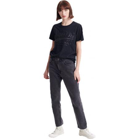 Dámske tričko - Superdry RO GLITTER EMBOSS ENTRY TEE - 1