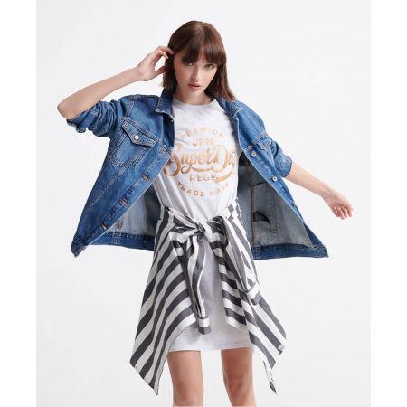 Dámske šaty - Superdry CORE T-SHIRT DRESS - 3