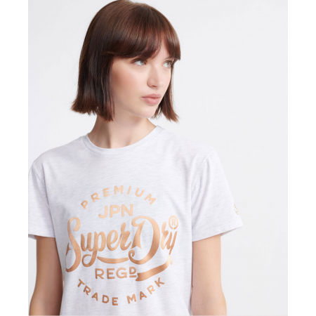 Dámske šaty - Superdry CORE T-SHIRT DRESS - 4
