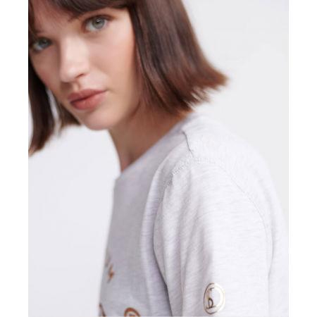 Dámske šaty - Superdry CORE T-SHIRT DRESS - 5