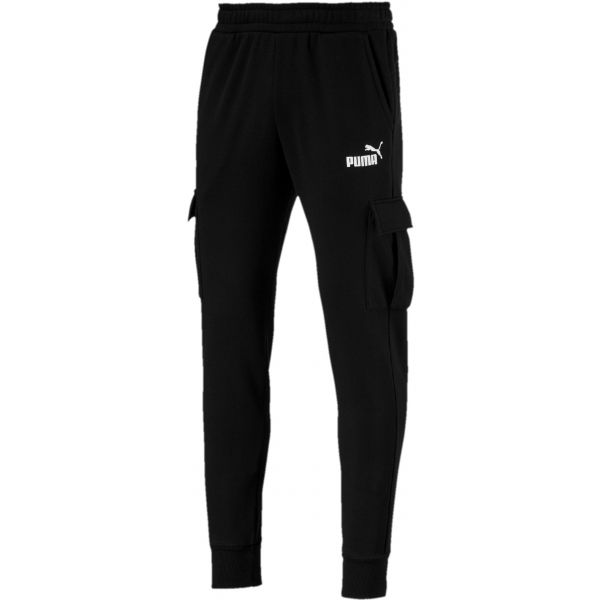 Puma ESS+ POCKET PANTS czarny M - Spodnie dresowe męskie
