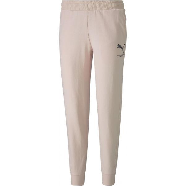 Puma NU-TILITY PANTS CL jasnoróżowy L - Spodnie dresowe damskie