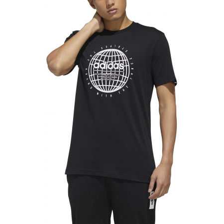 Pánske tričko - adidas GLB T - 3
