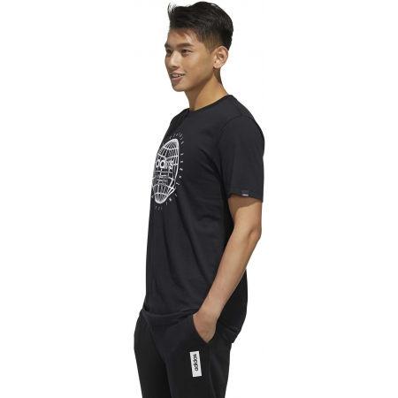 Pánske tričko - adidas GLB T - 5
