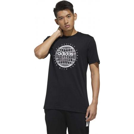 Pánske tričko - adidas GLB T - 4