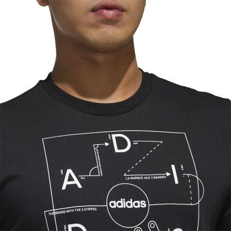 Pánske tričko - adidas GMPLN T - 8