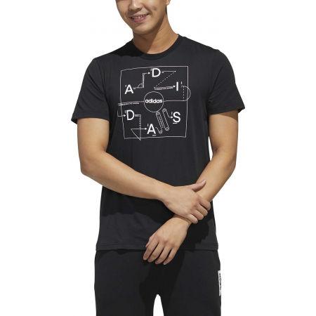 Pánske tričko - adidas GMPLN T - 3