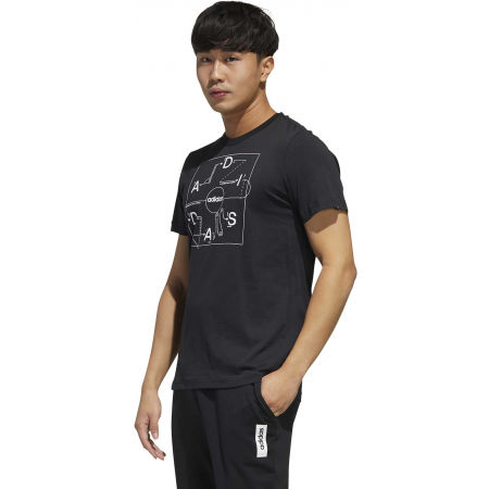 Pánske tričko - adidas GMPLN T - 6