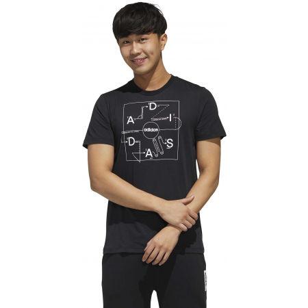 Pánske tričko - adidas GMPLN T - 4