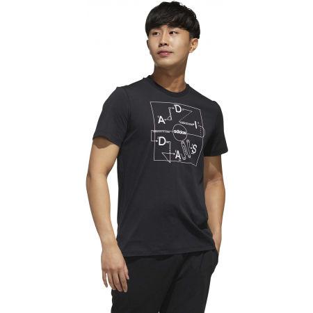 Pánske tričko - adidas GMPLN T - 5