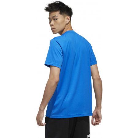 Pánské tričko - adidas D2M PLAIN TEE - 7