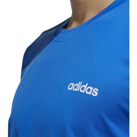 Pánské tričko - adidas D2M PLAIN TEE - 8