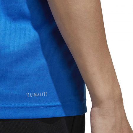 Pánské tričko - adidas D2M PLAIN TEE - 10
