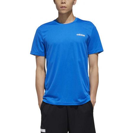 Pánské tričko - adidas D2M PLAIN TEE - 3
