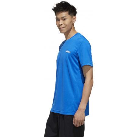 Pánské tričko - adidas D2M PLAIN TEE - 5