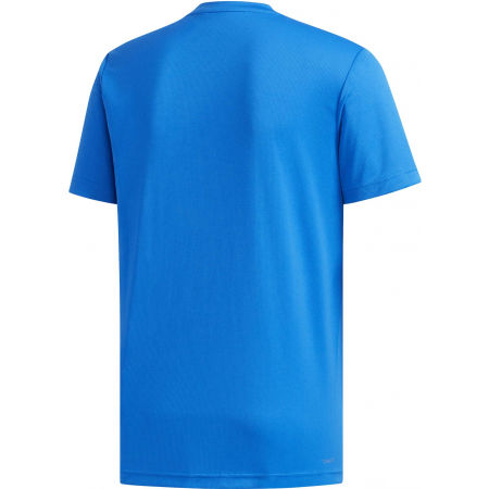 Pánské tričko - adidas D2M PLAIN TEE - 2