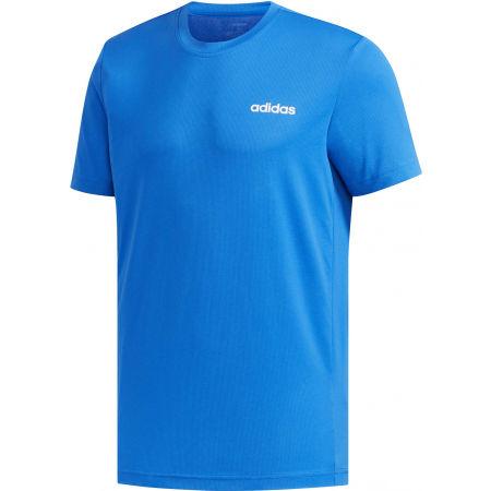 Pánské tričko - adidas D2M PLAIN TEE - 1