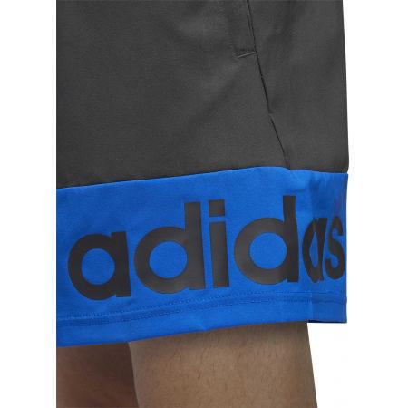 Pánske kraťasy - adidas D2M COLORBLOCK SHORT - 7