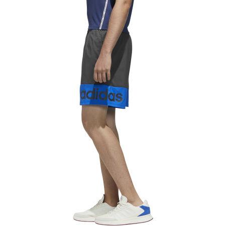 Pánske kraťasy - adidas D2M COLORBLOCK SHORT - 4