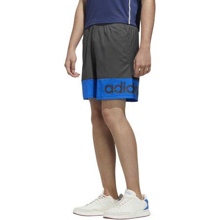 Pánske kraťasy - adidas D2M COLORBLOCK SHORT - 3