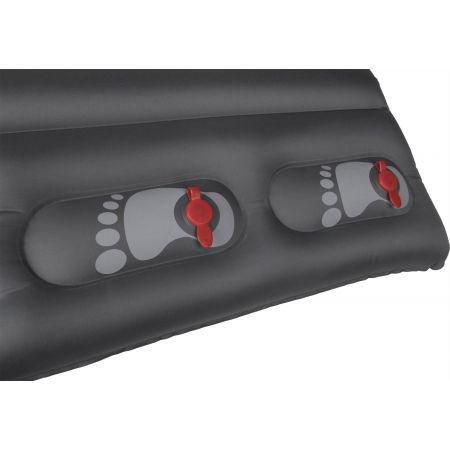 Dwuosobowy materac dmuchany z pompką nożną - Crossroad TUBE PUMP DUO - 4