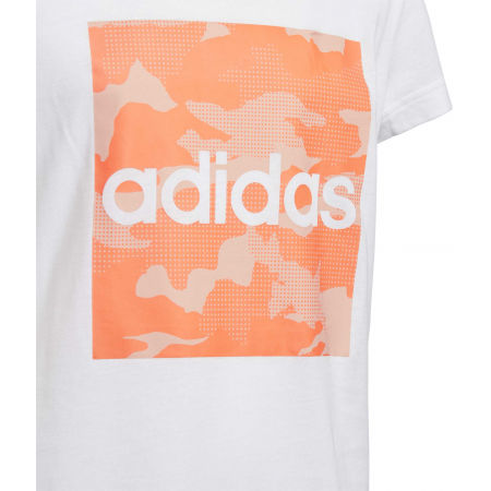 Dievčenské tričko - adidas YG CAMO TEE - 3