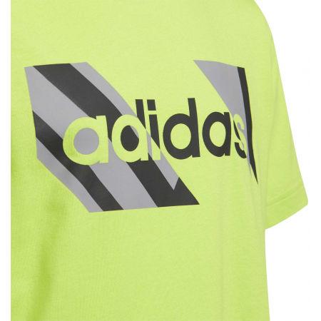 Chlapčenské tričko - adidas YB Q2 T - 3