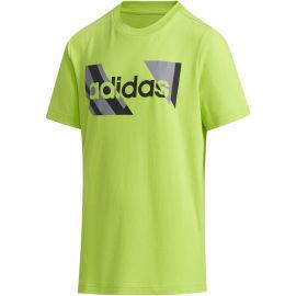 adidas YB Q2 T - Chlapčenské tričko
