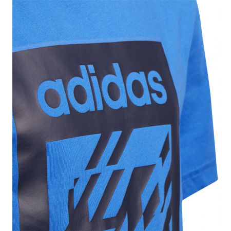 Chlapčenské tričko - adidas YB BOX TEE - 3