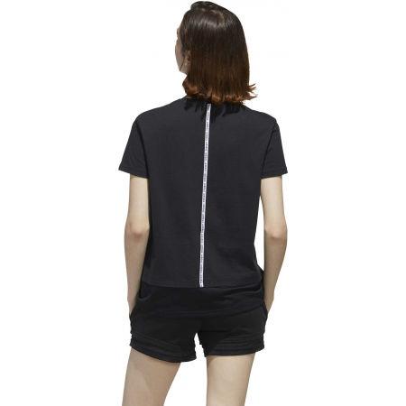 Dámske tričko - adidas WOMEN ESSENTIAS MATERIAL MIX TEE - 7