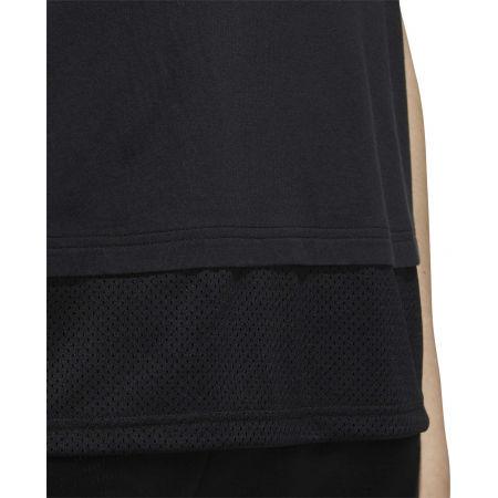 Dámske tričko - adidas WOMEN ESSENTIAS MATERIAL MIX TEE - 9