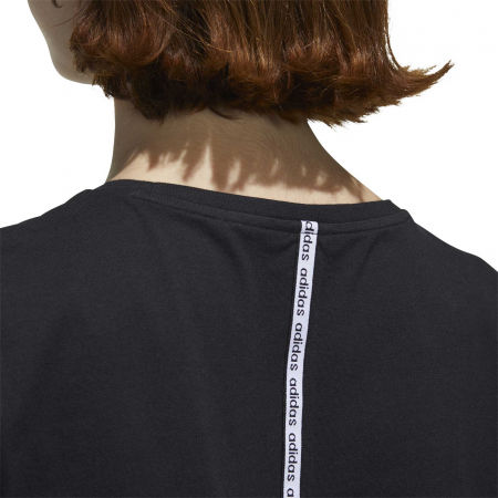 Dámske tričko - adidas WOMEN ESSENTIAS MATERIAL MIX TEE - 10