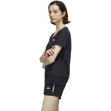 Dámske tričko - adidas WOMEN ESSENTIAS MATERIAL MIX TEE - 5
