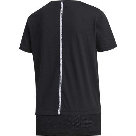 Dámske tričko - adidas WOMEN ESSENTIAS MATERIAL MIX TEE - 2