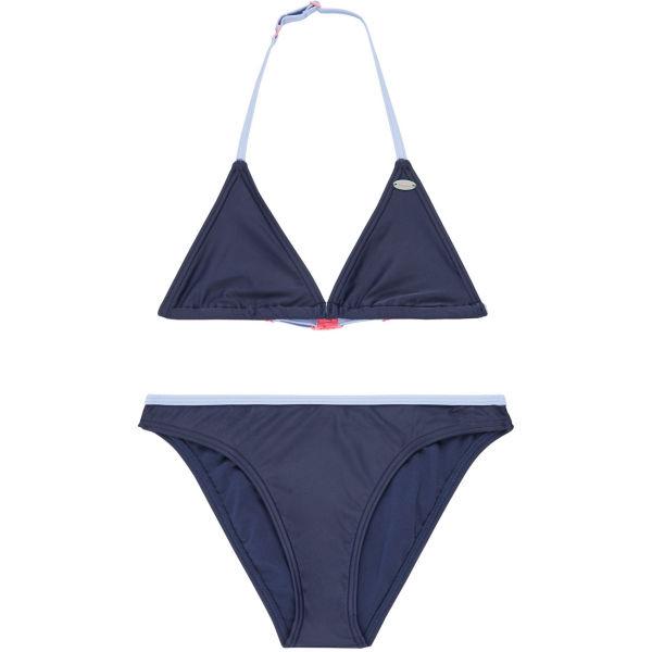 O'Neill PG ESSENTIAL TRIANGLE BIKINI tmavě modrá 116 - Dívčí plavky
