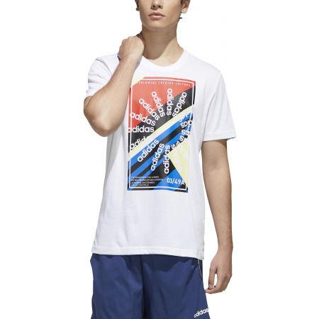 Pánske športové tričko - adidas CLIMA SLGN T - 3