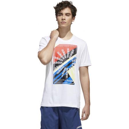 Pánske športové tričko - adidas CLIMA SLGN T - 4