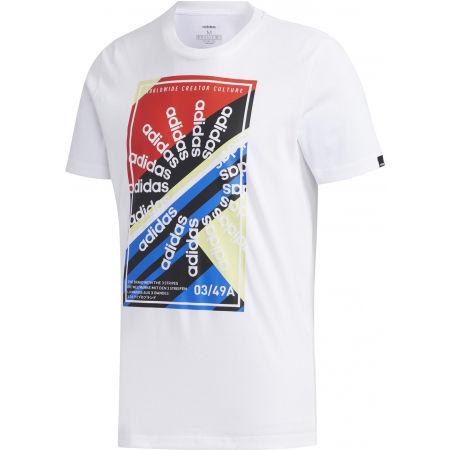 adidas CLIMA SLGN T - Pánske športové tričko