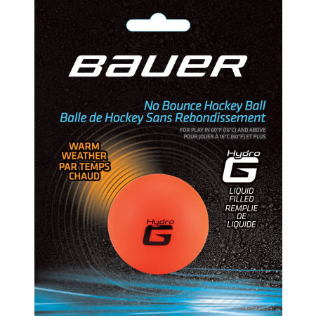 Bauer HOCKEY BALL HYDRO G WARM - Mingi de hochei