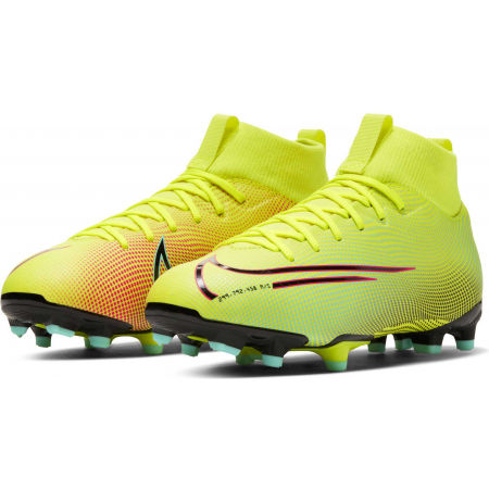 Kids' football shoes - Nike JR MERCURIAL SUPERFLY 7 ACADEMY MDS FG/MG - 3