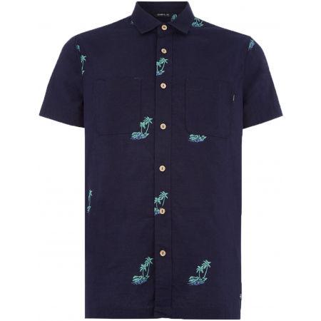 Мъжка риза - O'Neill LM PALM AOP S/SLV SHIRT - 1