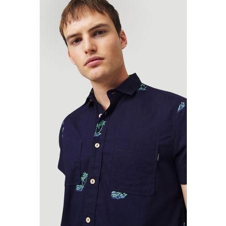 Мъжка риза - O'Neill LM PALM AOP S/SLV SHIRT - 6