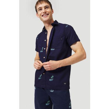 Мъжка риза - O'Neill LM PALM AOP S/SLV SHIRT - 4