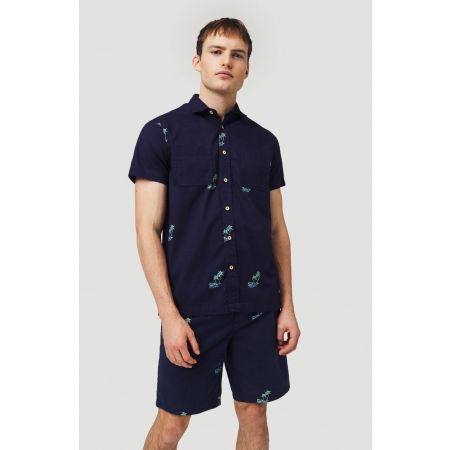 Мъжка риза - O'Neill LM PALM AOP S/SLV SHIRT - 3
